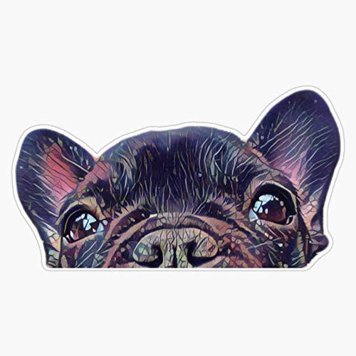 French Bulldog Ii Sticker Vinyl Waterproof Sticker Decal Car Laptop Wall Window Bumper Sticker 5'