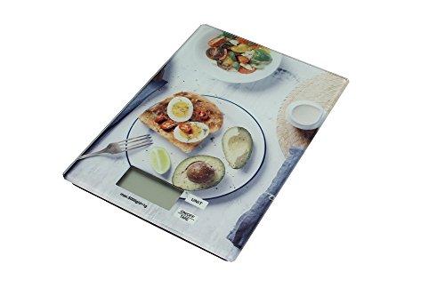 Decoración cocina – Balanza alimentaria cocina digital con dibujo