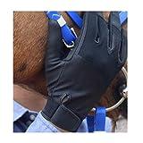 DPFXNN Guantes de equitación para hombre y mujer, guantes de equitación, guantes de equitación, para deportes al aire libre, conducción, equitación, ciclismo, unisex, XL