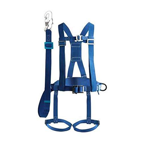 Imbracatura anticaduta, imbracatura di sicurezza per tutto il corpo, cintura di sicurezza esterna elettricista doppia imbracatura di costruzione corda