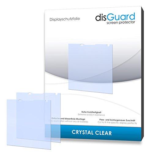 disGuard® Bildschirmschutzfolie [Crystal Clear] kompatibel mit BlackBerry Passport [4 Stück] Kristallklar, Transparent, Unsichtbar, Extrem Kratzfest, Anti-Fingerabdruck - Panzerglas Folie, Schutzfolie