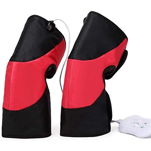 GzxLaY Calentador de piernas para Terapia de Masaje con Envoltura de Rodilla con Calor para Masaje de pantorrillas, máquina de Masaje de compresión de pantorrillas para la circulación