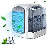 Enfriador de aire portátil refrigerador de aire portátil USB personal Mini humidificador portátil enfriador de aire actualizado silencio enfriadores de aire para el hogar (como se muestra)