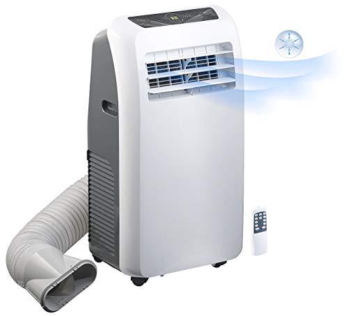 Sichler - Climatizzatore mobile monoblocco, senza scaldiglia, 7000 BTU/h, 880 W