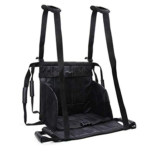 XHDMJ Patientenlifter Slings Aid Transfer Wheelchair Belt - Wiederverwendbare Notfall-Rollstuhl-Transportgurt Für Medizinische Mobilität, Patiententransferbrett