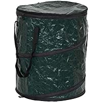 Household Essentials 2032-1 Pop Can and Leaf Bag with Zipper Lid