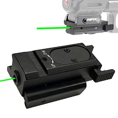 Sniper 5008G Green Dot Laser Sight Pistol for Rifle Handgun fit Weaver or Picatinny Rail