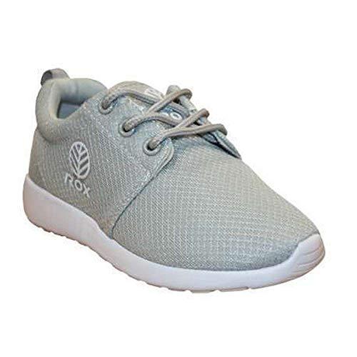 Rox R Gravity, Zapatillas de Deporte Unisex niños, Gris (Grey), 32 EU