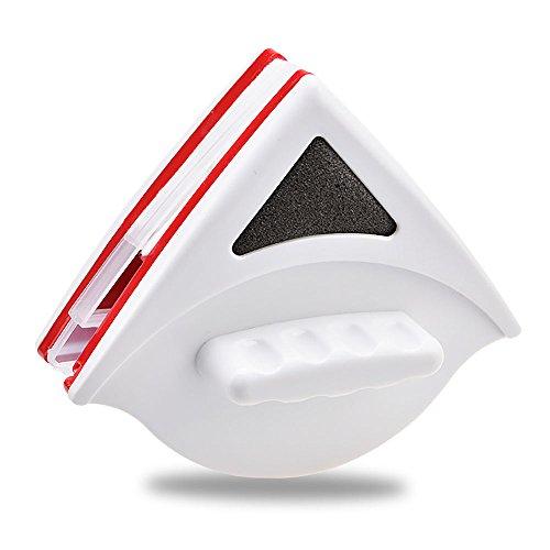 HuntGold Durable Magnétique Double Couche Nettoyant Verre Triangle Fenêtre Outil De Nettoyage 15-24 mm