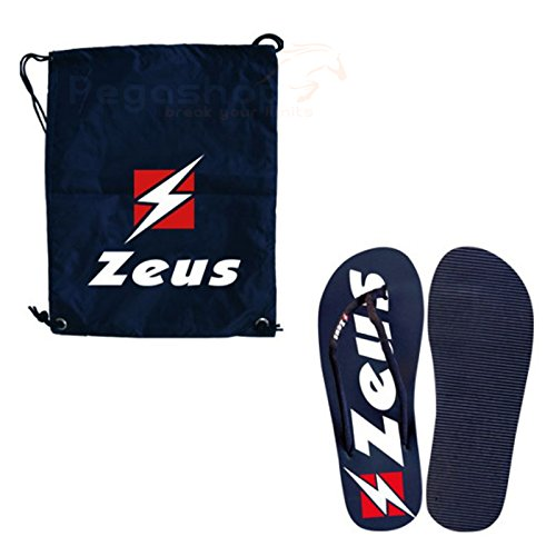 Zeus Kit Set Bolsa saktiel Caminar Chanclas Promos Playa Gimnasio Piscina Pegashop,...