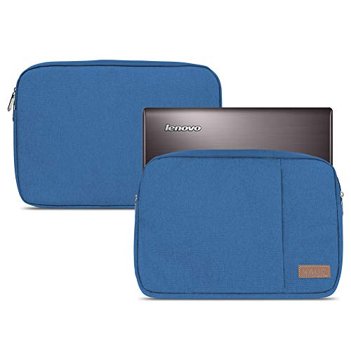NAUC Sleeve Tasche kompatibel für Lenovo Thinkpad Yoga 370 Schutzhülle 13,3 Zoll Ultrabook Notebook Schutztasche Hülle Soft Cover, Farbe:Blau