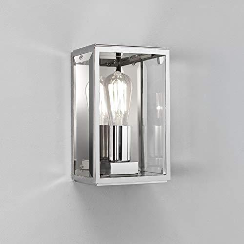 Astro 0563 E27 Homefield Wandleuchte, 1x 60W, 230V, ohne Leuchtmittel, poliertes Nickel