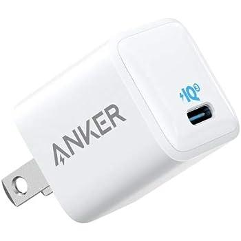Anker PowerPort III Nano (PD対応 18W USB-C 超小型急速充電器)【PSE認証済/PowerIQ 3.0搭載】 iPhone, iPad, Galaxy, Xperia,その他Android各種対応 (ホワイト)