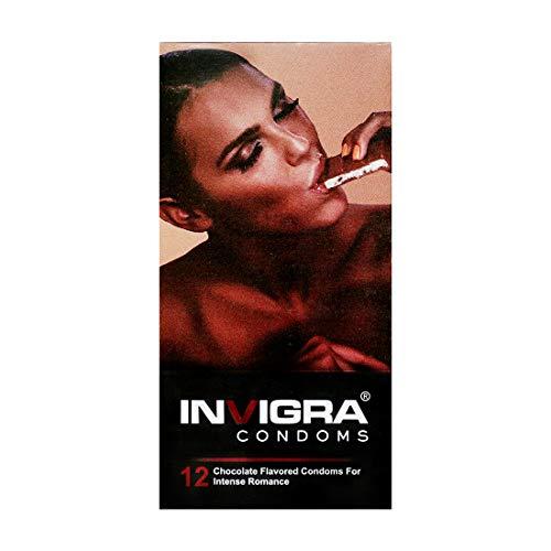 Invigra Chocolate Lubricated Condoms