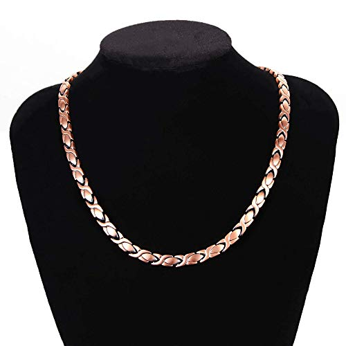Magnetic Copper Necklace for Women Shoulder Pain Relief