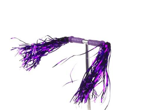 SCOOT Super Long Streamers pour Trottinette (Violette)