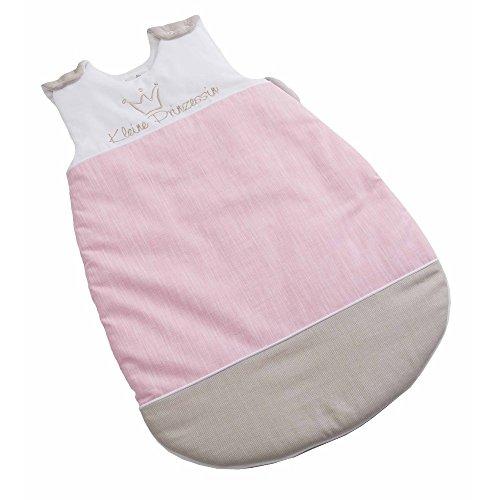 Be Be´s Collection Winter-Schlafsack wattiert Prinz oder Prinzessin, Größe:90, Design:Prinzessin neu