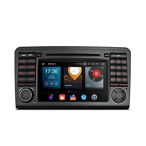 XTRONS 7 pulgadas Android 8.0 Octa Core 4G RAM 32G ROM estéreo de coche HD digital multitáctil reproductor de DVD DVR Control de presión de neumáticos Wifi OBD2 para Mercedes Benz X164 W164 ML