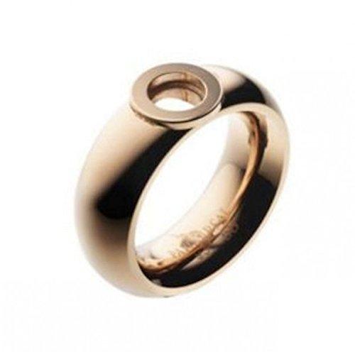 Pavo Real Ring Cadiz 8,5 mm curved rosé polished, Grösse:58