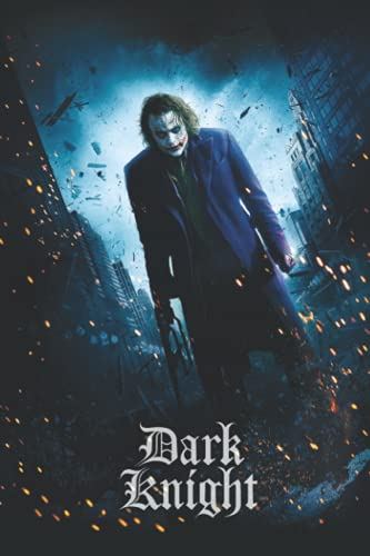 Dark Knight Notebook: - 6 x 9 inches with 110 pages