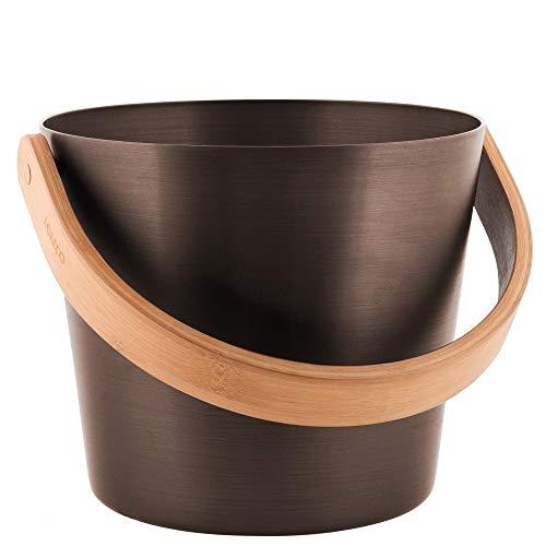 rento Cubo para sauna (I Cubo de sauna I Sauna Paleta I Sauna Tetera I El Maravilloso Sauna–Accesorios para el sauna perfecto