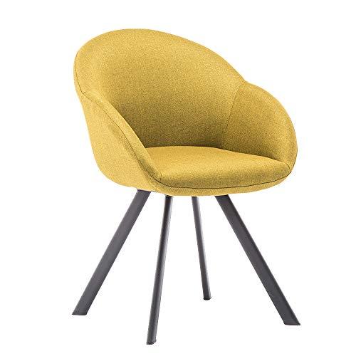 Movian Arno – Silla de comedor, amarillo mostaza