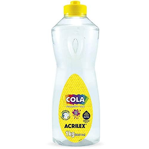 Cola Transparente, Acrilex, 1 Kilo