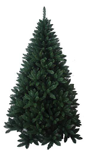 Albero di natale folto verde altezza cm. 210