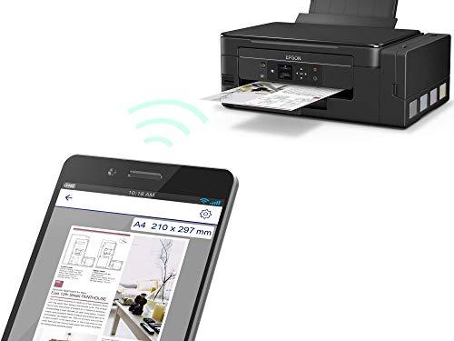 Epson ET-2650 EcoTank  Impresora de inyección de tinta 3 en 1, Wifi, pantalla LCD, Negro