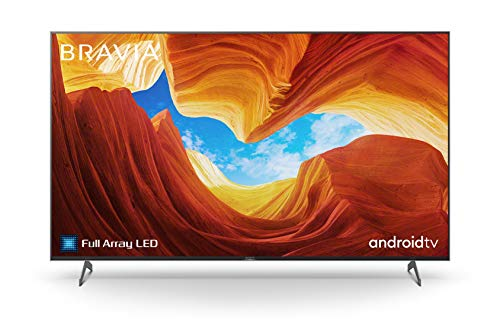 Sony KD-55XH90 Bravia 139 cm (55 Zoll) Fernseher (Android TV, Full Array LED, 4K, High Dynamic Range (HDR), Smart TV, Sprachsteuerung, 2020 Modell), Schwarz