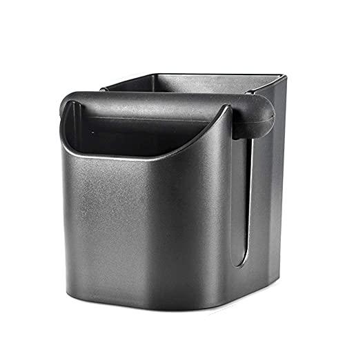 JLKDF Caja de Golpe de café, contenedor de posos de café Antideslizante, para Accesorios de Herramientas de máquina de café, Base Antideslizante, Fuerte y Resistente (A)