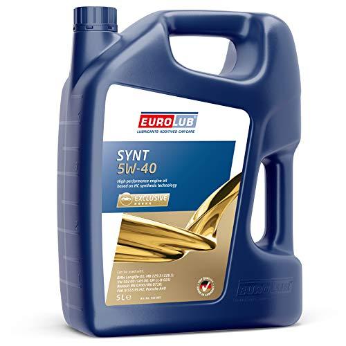 EUROLUB SYNT SAE 5W-40 Motoröl, 5 Liter