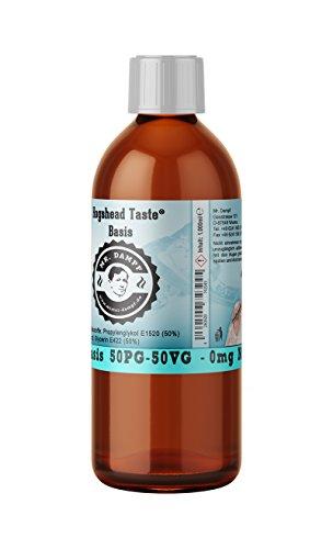 Basis 50PG/50VG - 0mg Nikotin - 1 Liter