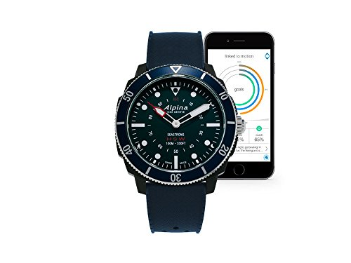 Alpina Watch AL-282LNN4V6 Blu smartwatch