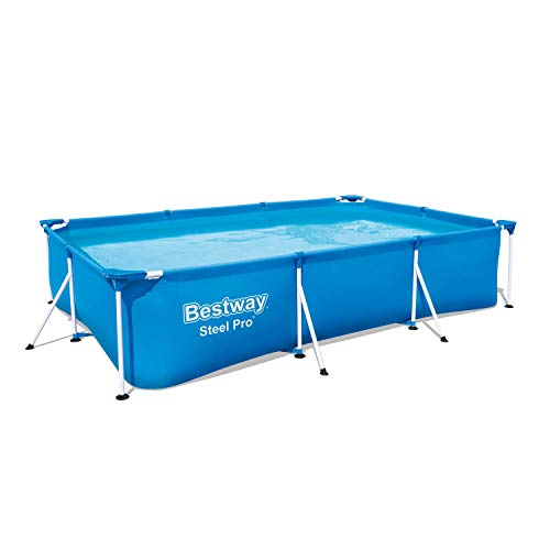 Bestway Piscina Desmontable Tubular, 300 x 201 x 66 cmDeluxe Splash Frame Pool