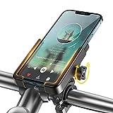 """Soporte Movil Bici & Moto, WOEOA Porta Movil Bicicleta Aluminio, Soporte Telefono Motocicleta/Patinete Electrico/MTB, Portamoviles Manillar para iPhone Samsung Note etc. 4.5""""-6.7"""""""