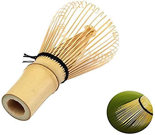 Toruiwa Matcha Besen Matcha Schneebesen Bambus Besen Chasen Matcha Pulver Quirl Werkzeug Japanische Teezeremonie Zubehör 100 Borsten (Matcha Besen
