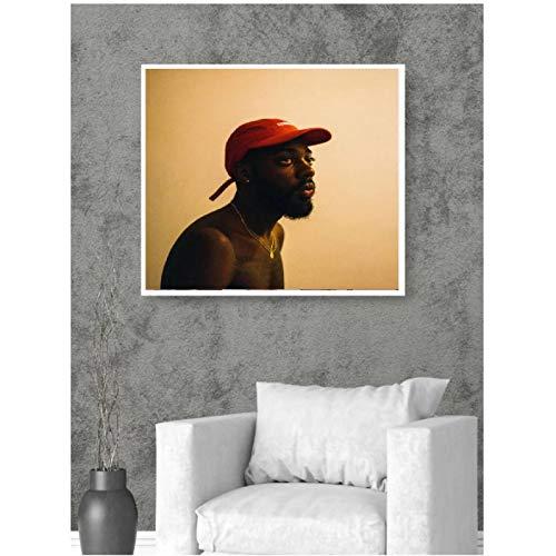 M313 Brent Faiyaz Sonder Son 2017 Álbum Hip Hop Art Cover Poster Decoración Imprimir Decoración de la Pared Lienzo de habitación -50x50CM sin Marco