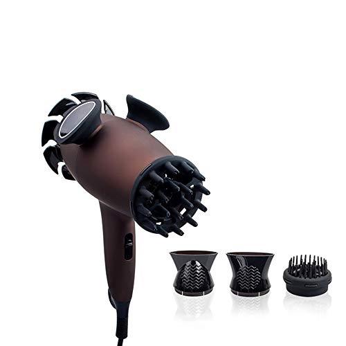 Secador de pelo profesional, masaje de fisioterapia por infrarrojos Secador de cabello Dispositivo de control de temperatura inteligente Secador de cabello adecuado para masaje corporal completo
