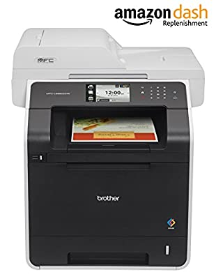 Brother Printer MFC-L8850CDW Wireless Color Laser Printer with S Copier and Fax,