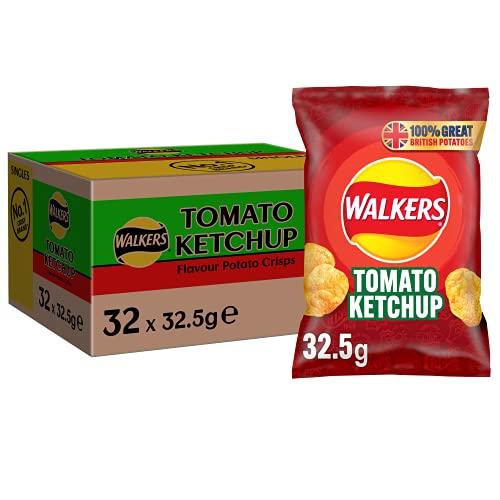 Walkers Crisps Tomato Ketchup 32 x 32,5g