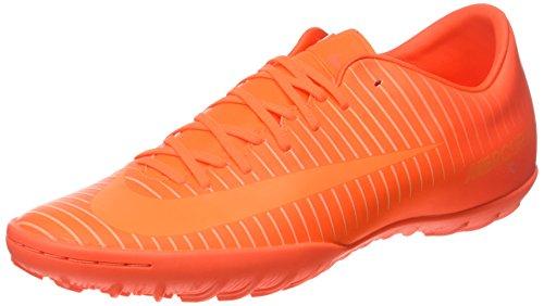 Nike Mercurial Victory VI Turf Fußballschuhe, Scarpe da Calcio Uomo, Arancione (Total Orange/Bright Zitrus/Hyper Crimson Rot), 42 EU