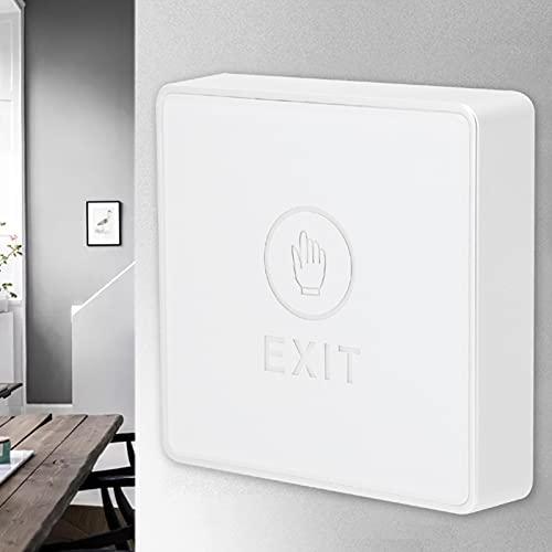 SHYEKYO Interruptor Inteligente, fácil de Instalar Panel acrílico de Interruptor táctil Inteligente de Rendimiento Estable para Seguridad para la Puerta del hogar