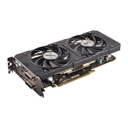 XFX R9-380X-4DB5 Radeon AMD Grafikkarte 4GB schwarz