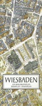 Stadtplan Wiesbaden in 3D von Bollmann
