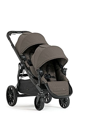 Product Image of the Baby Jogger 2017 City Select LUX Double Stroller - New Model (Taupe)
