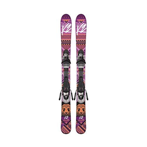 K2 Luv Bug Fastrak 4.5 Ski met bevestiging voor meisjes