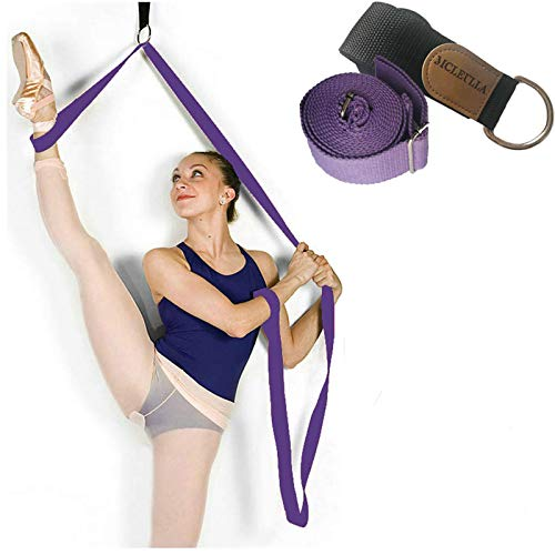 Leg Stretcher Band on Door - Get More Flexible - Ballet Yoga Pilates Flexibility Trainer To Improve Leg Stretching - Perfect Home Portable Equipment For Dance Gymnastic Exercise taekwondo & MMA