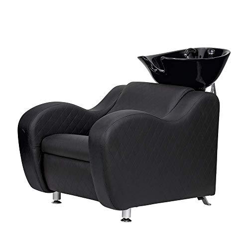 Friseur-wastafel fontein zwart of wit Blanco Y Gris