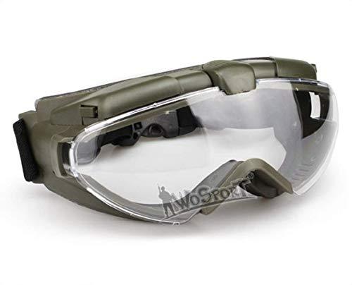 Tactical Airsoft Paintball anti-condensbril voor helmritten, fietsbestendigheid, UV-veiligheidsbril, PC-lensbril voor de jacht in de open lucht